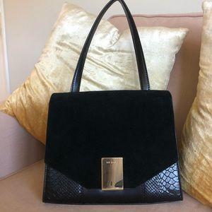 Ted Baker Black Leather Bag